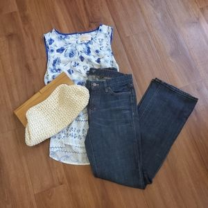 J Crew Factory Bootcut Jeans
